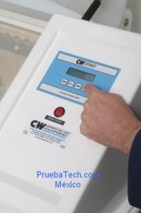 camara de corrosion ciclica C&W CW control panel prueba