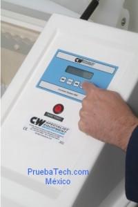 camara de humedad CW C&W prueba control panel